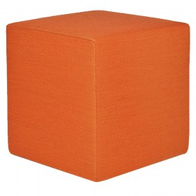 Sunproof poef Southend-100-Light-Orange